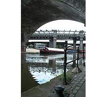 Canal Bridge - Castlefield Photographic Print