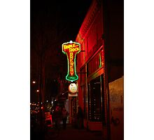 Berkeley Indie Watering Hole Photographic Print
