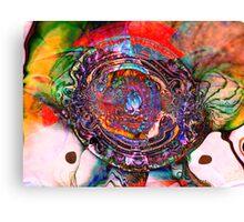 Three Layer Abstract: Lara's Theme (110817) Canvas Print
