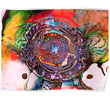 Three Layer Abstract: Lara's Theme (110817) Poster