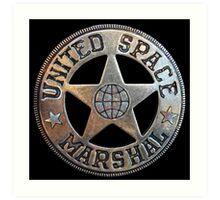 United Space Marshal Art Print