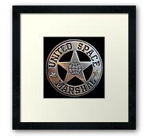 United Space Marshal Framed Print