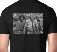 Vietnam Veterans Memorial 7 BW Unisex T-Shirt