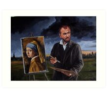 Johan by Vincent Art Print