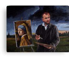 Johan by Vincent Canvas Print
