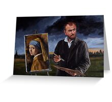 Johan by Vincent Greeting Card