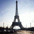 Silhouette of Paris by Cat Brady