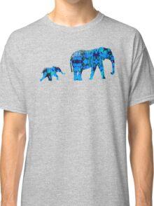 Inkblot Elephants Classic T-Shirt