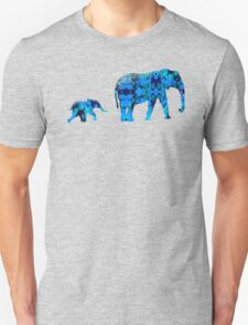 Inkblot Elephants Unisex T-Shirt