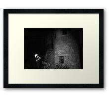Spooky Castle Framed Print