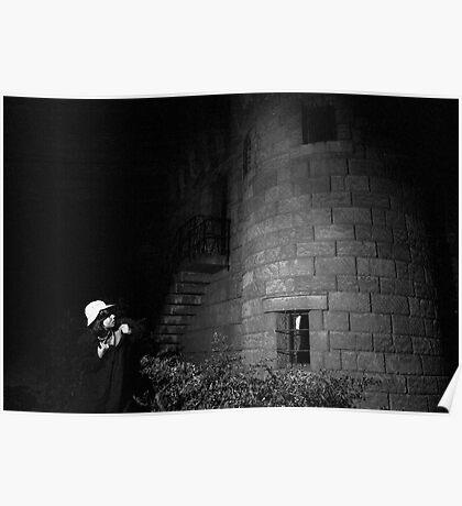 Spooky Castle Poster