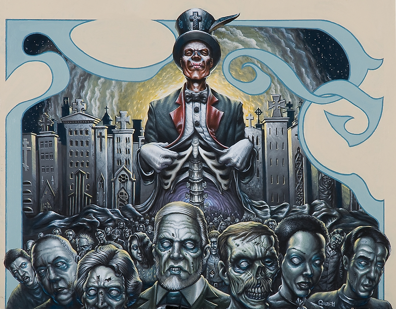 The Baron (Iconoclast Dream) - 2011 by W. Ralph Walters