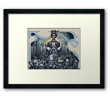 The Baron (Iconoclast Dream) - 2011 Framed Print