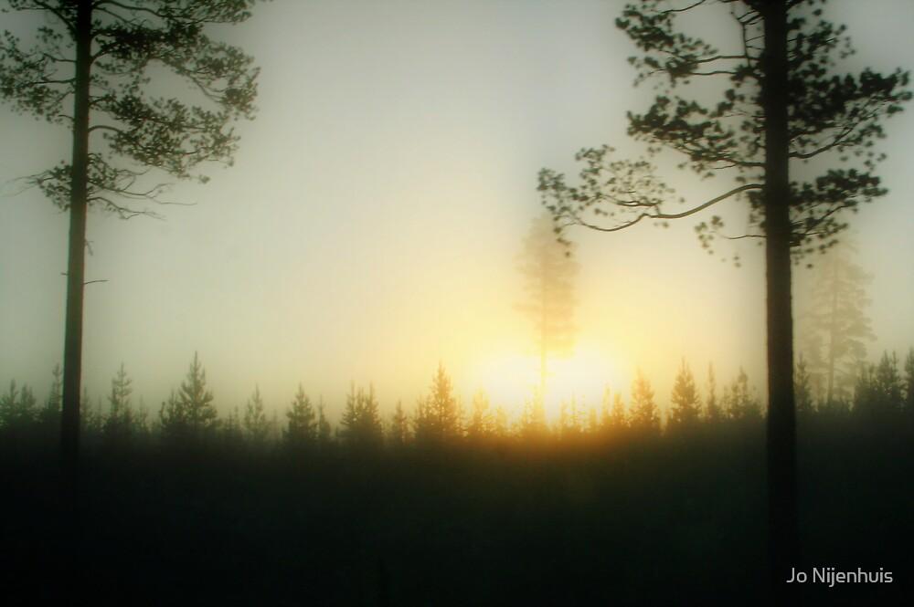 Foggy Sunrise by Jo Nijenhuis