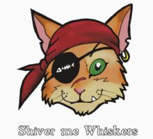 Shiver me Whiskers Kids Tee