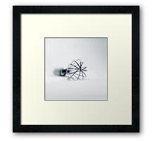 Whisk for whipped cream Framed Print