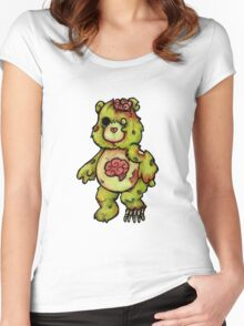 Scare Bear Women's Fitted Scoop T-Shirt