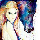 Horse Girl  by Slaveika Aladjova