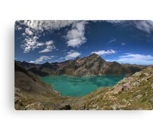 Shadows on the Water Canvas Print