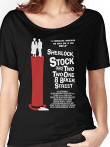 Sherlock, Stock and 221B Baker Street Women's Relaxed Fit T-Shirt