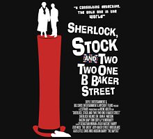 Sherlock, Stock and 221B Baker Street Unisex T-Shirt