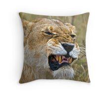 Lion's Mimic Throw Pillow