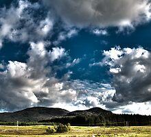 Distant Hills HDR by Glen Allen