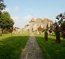 St Thomas Church Yard - Winchelsea by clarebearhh