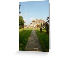 St Thomas Church Yard - Winchelsea Greeting Card