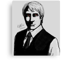 Dear Dr. Lecter Canvas Print