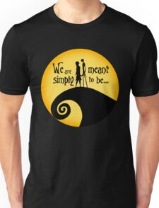Jack and Sally Unisex T-Shirt