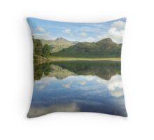 The Ripple In August's Reflection Throw Pillow
