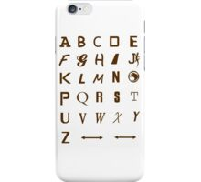 ALphabets iPhone Case/Skin