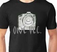 One Vee Black T Unisex T-Shirt