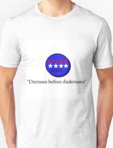 parks & rec vote for knope Unisex T-Shirt
