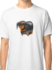 Cute Rottweiler Design   Classic T-Shirt