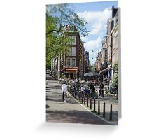 Amsterdam: Old Town Ways Greeting Card