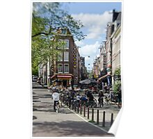Amsterdam: Old Town Ways Poster
