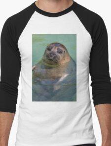 sea lion at the zoo Men's Baseball ¾ T-Shirt