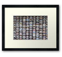 Shades Framed Print