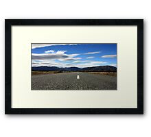 A road to ... Framed Print