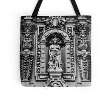 Museum Façade in Black & White Tote Bag