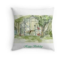 Place of Relaxation Throw Pillow