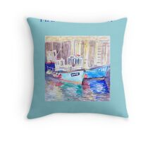 Reflections on West Bay Throw Pillow