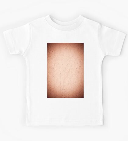 Grained paint brown wall texture  Kids Tee