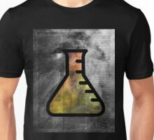Magic Alchemy Vial Chemistry over  Dictionary Art Unisex T-Shirt