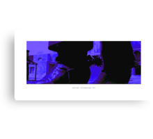 Gunfight [Cinemascope] 001 Canvas Print