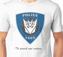 Transformers - Police Unisex T-Shirt