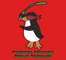 Teenage Mutant Ninja Penguin One Piece - Short Sleeve