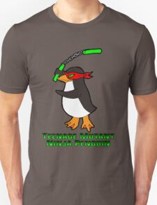 Teenage Mutant Ninja Penguin T-Shirt